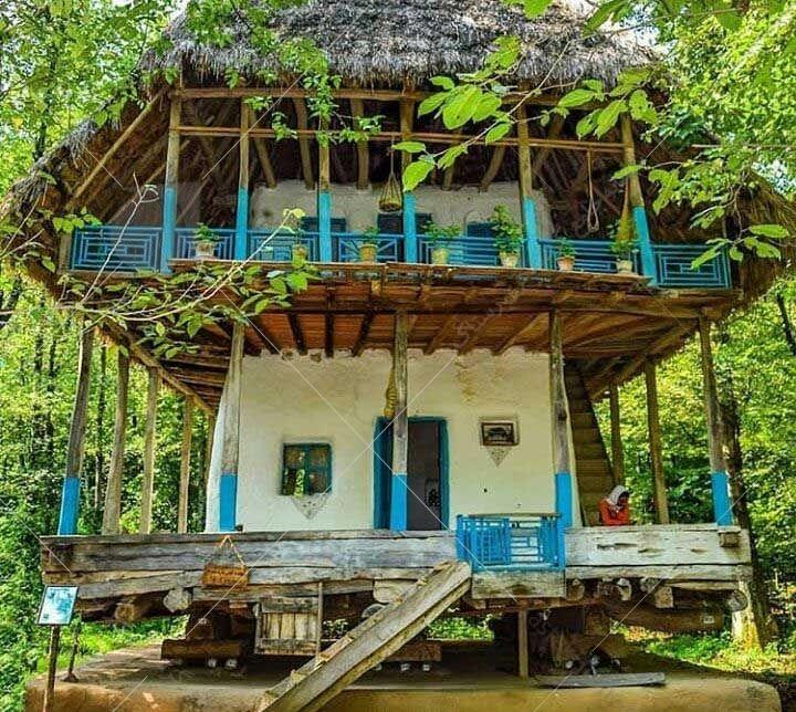 خانه روستایی در ماسوله