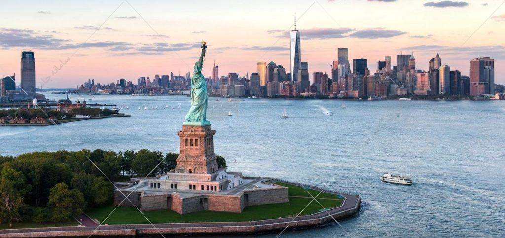 مجسمه ی آزادي، نيويورك ، ايالات متحده آمريكا