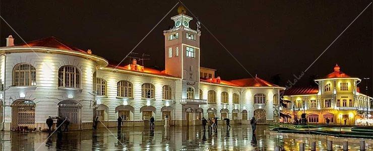 مجموعه میدان شهرداری رشت که تقریباً در مرکز شهر رشت قرار دارد، یکی از چشمههای آغازین این شهر بوده است.