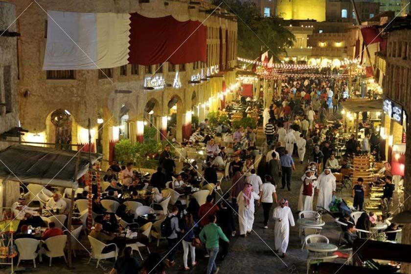 یکی دیگر از جاذبههای دیدنی، بازار قدیمی سوق واقف است که قدمتش به 250 سال پیش میرسد.