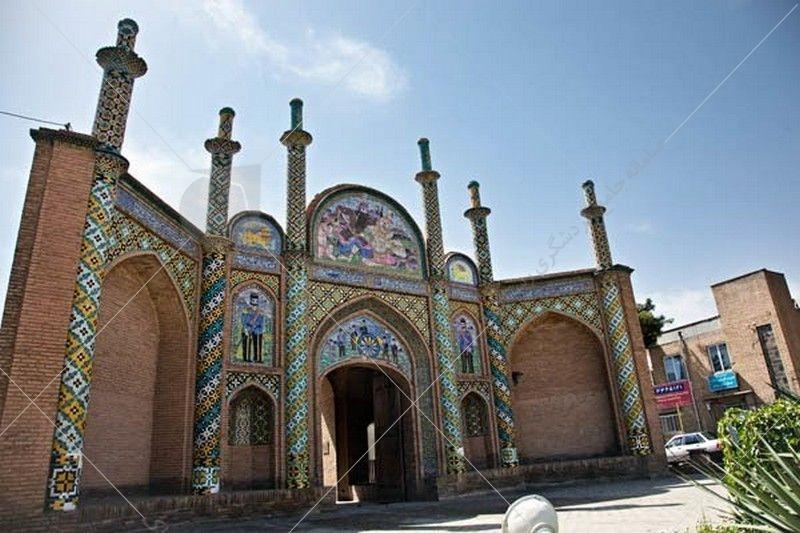 دروازه ارگ سمنان دروازهی شمالی و تنها اثر باقی مانده از ارگ سمنان است.