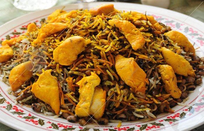 وقتی اسم از لوبیا پلو می آید شاید برنج به همراه لوبیا سبز را تصور کنید اما لوبیا پلوی شیرازی ها فرق دارد