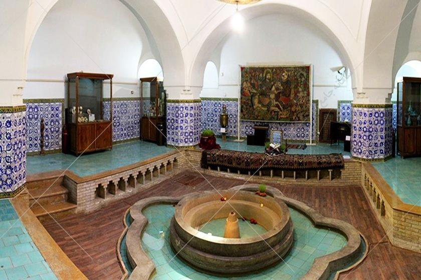 گرمابهی حضرت سمنان با نام گرمابهی پهنه نیز شناخته میشود و مربوط به دورهی صفوی و قاجاریه است.