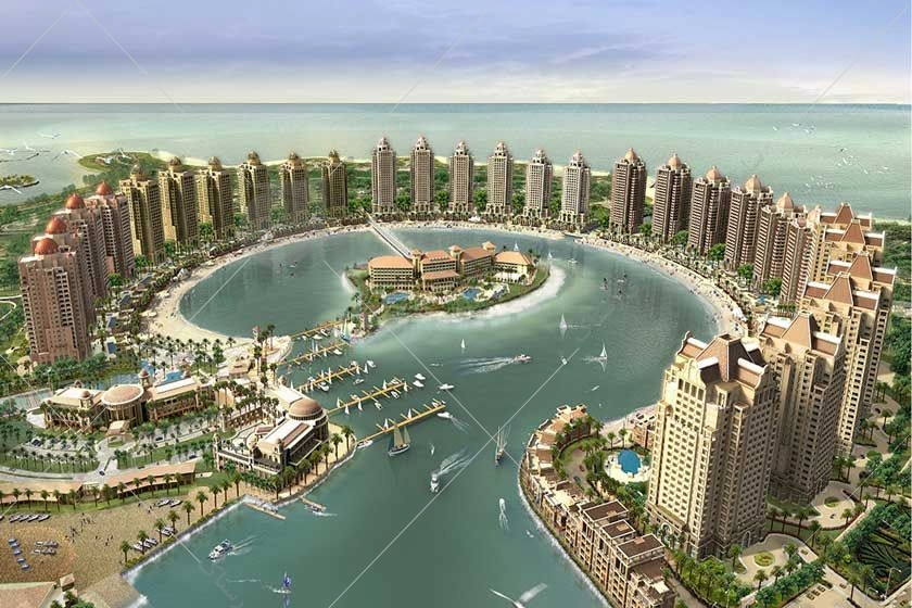 در نزدیکی خلیج فارس، شهر دوحه قرار گرفته است. شاید برایتان جالب باشد که مروارید قطر نام جزیرهای مصنوعی است که مساحتی 400 هکتاری دارد.