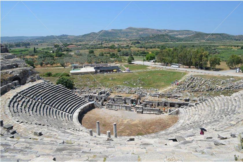 شهر باستانی میلتوس (میلتاس) در کوش آداسی