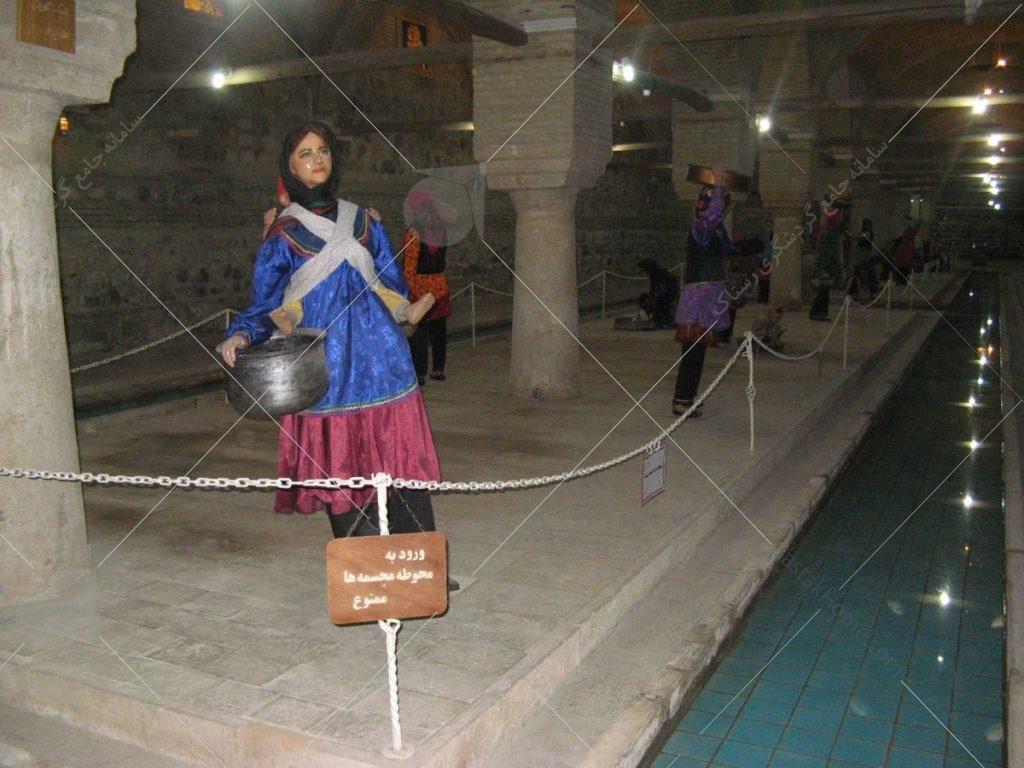 معماری رختشویخانه زنجان عکس از رستاک 02188141468