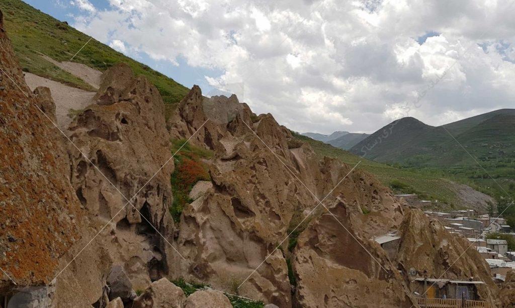 زاویه ای متفاوت از روستا عکس از رستاک
