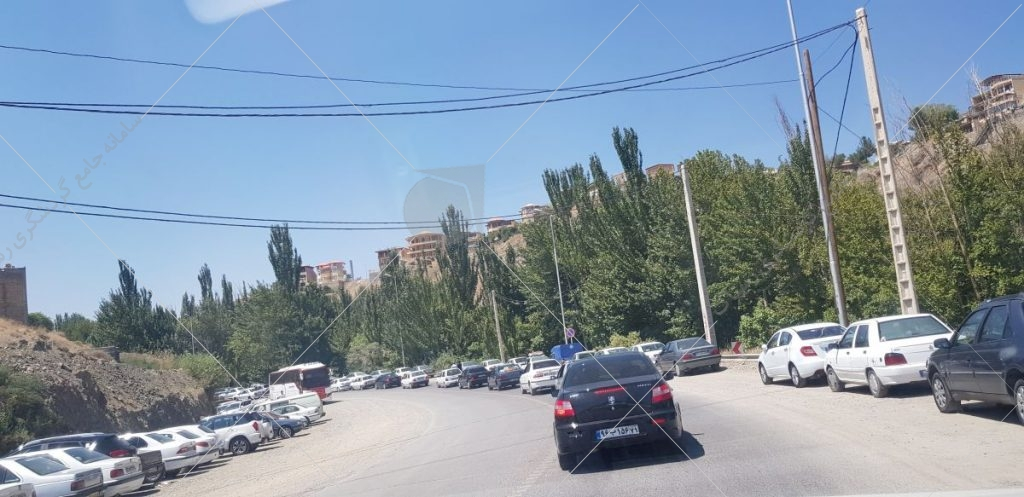 ورودی شهر سامان عکس از رستاک