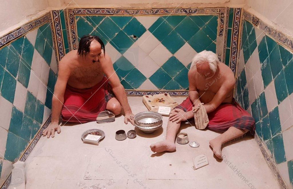 موزه حمام قلعه عکس از رستاک