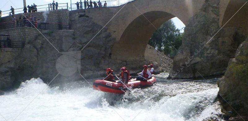 رفتینگ در رودخانه سامان