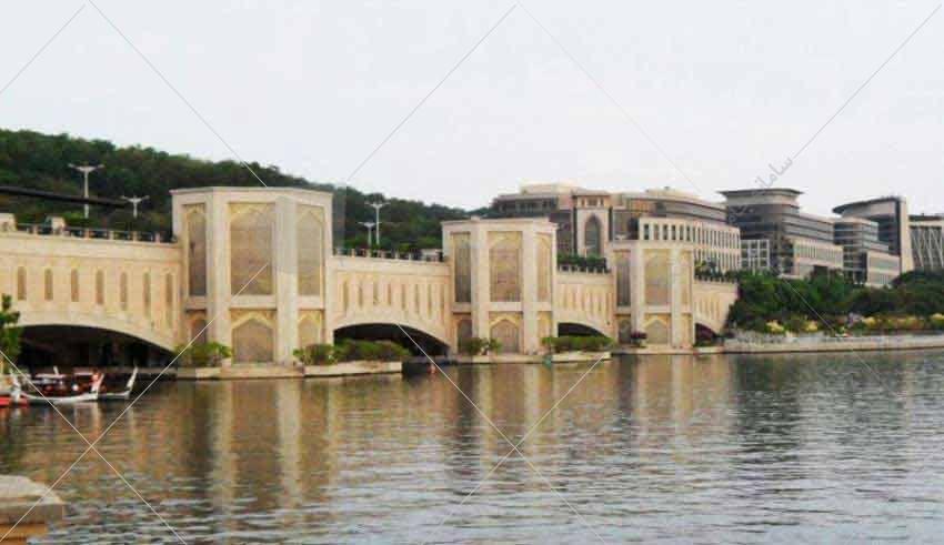 نمونه معماری ایرانی در مالزی