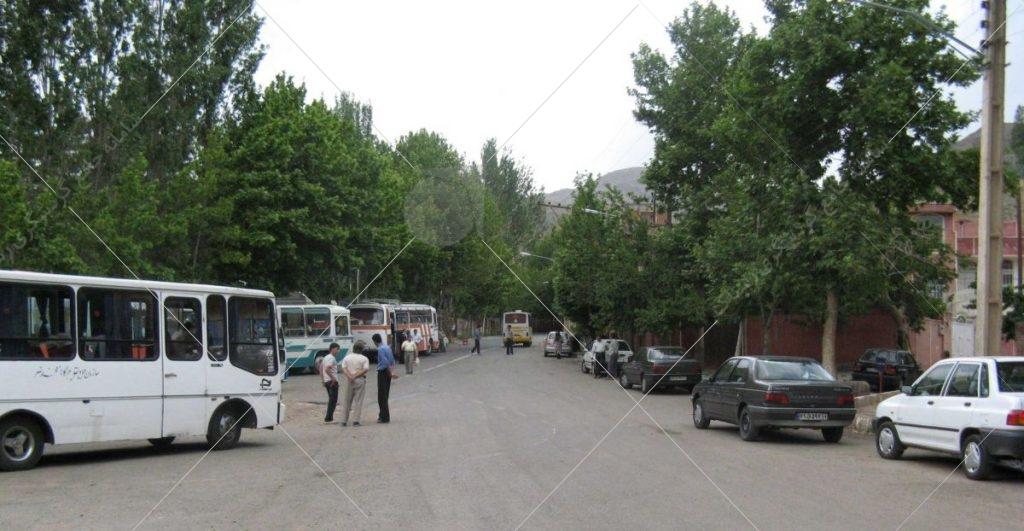 نمایی از ورودی روستا عکس از رستاک
