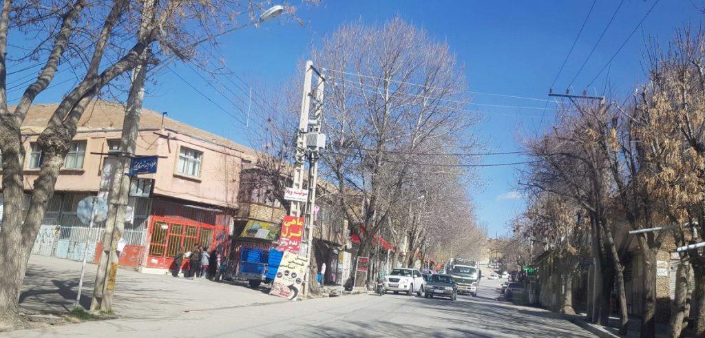 یکی از خیابان های سمیرم عکس رستاک