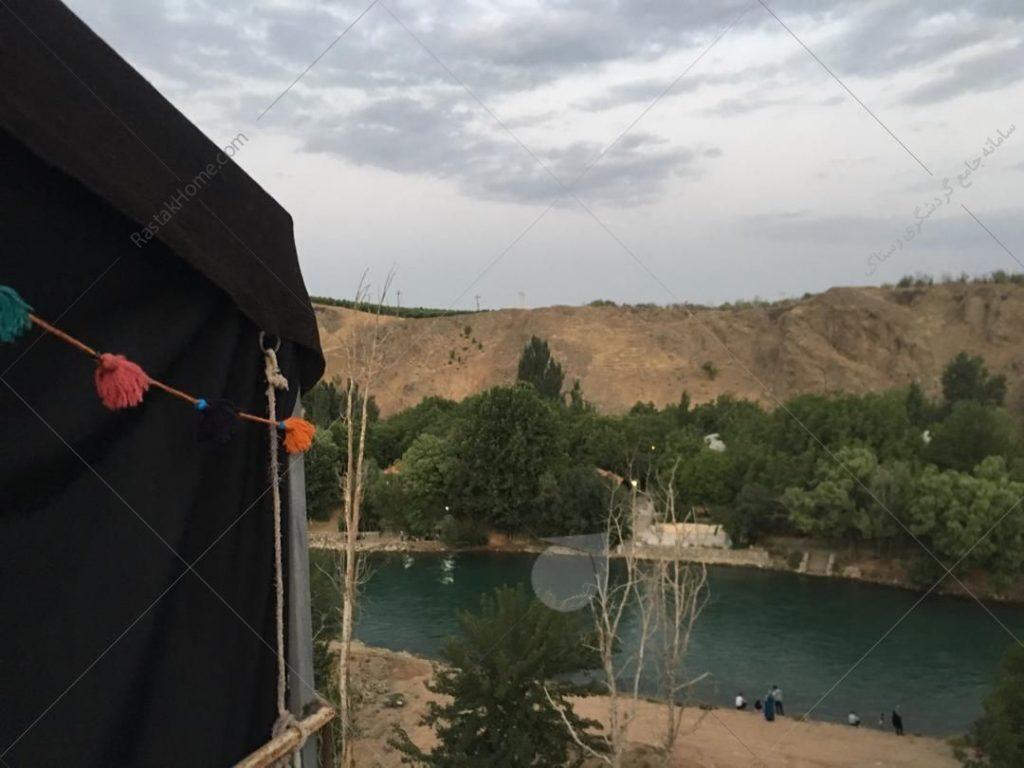 سیاه چادر  در سامان رزرو از طریق رستاک
