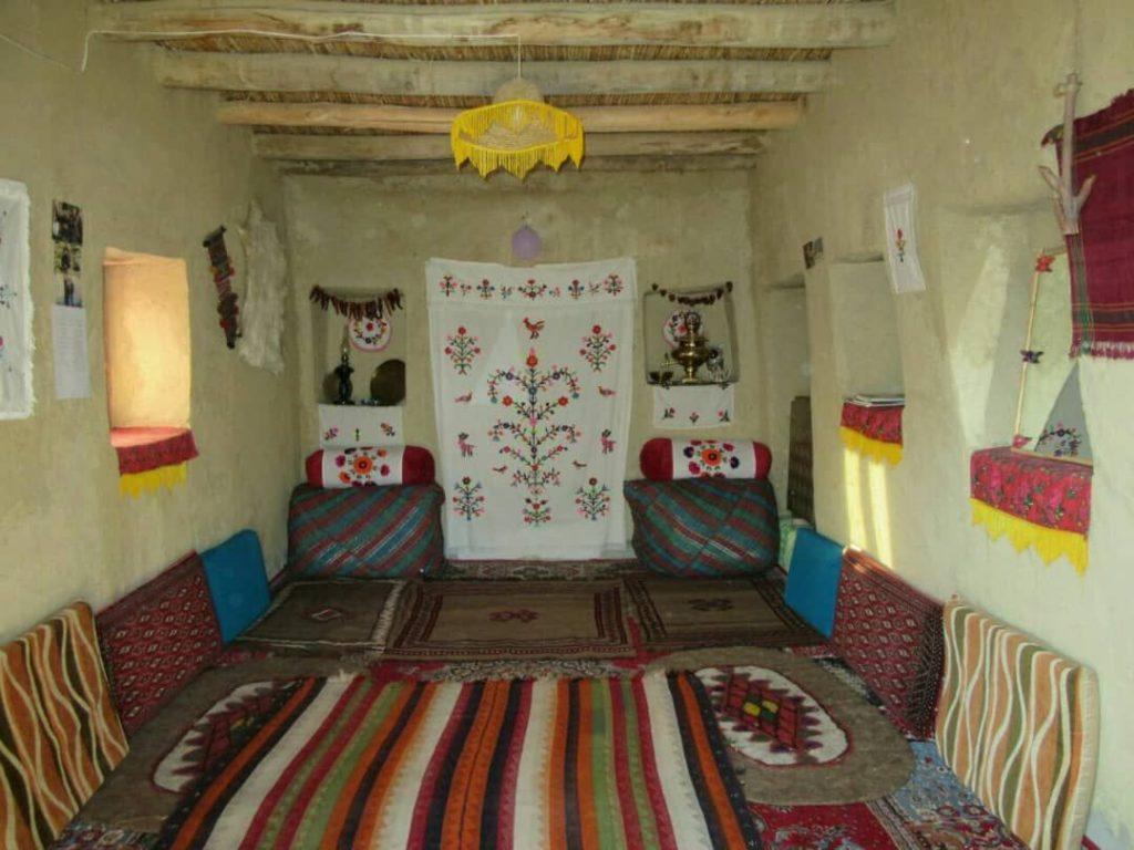 اقامت و پذیرایی اتاق های بوم گردی عکس از اقای کیقبادی