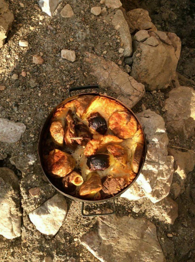 غذای محلی عکس از اقای کیقبادی